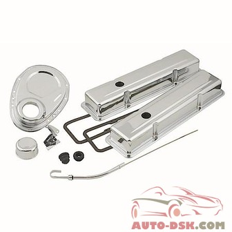 Mr. Gasket Chrome Dress-Up Kit - part #9834