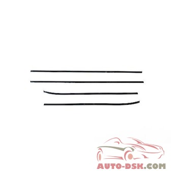 Putco Window Trim Accent, Chrome Plated, Fits KIA Optima - part #401734