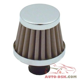 Spectre Breather Filter 10mm Stainless Steel Mesh - part #3995