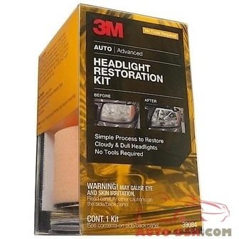 3M Headlight Restoration Kit - Medium Duty Restoration - part #39164