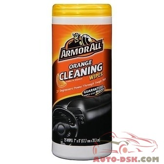 Armor All Air Freshening Cleaning Wipes - Orange Scent (25 Count) - part #10831/17498