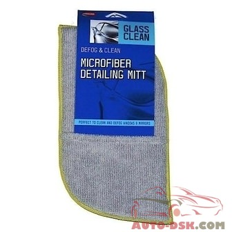 Carrand 2-Sided Microfibr Duster and Window Defogger Mitt - part #CRD40314