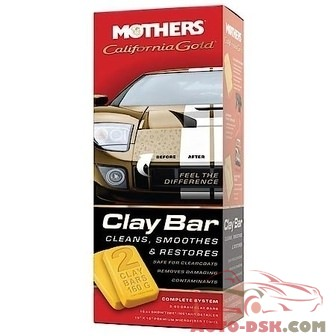 Mothers California Gold Clay Bar System - part #07240